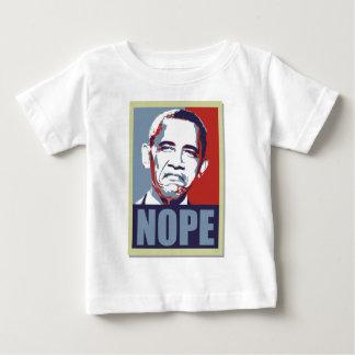 nope obama infant t-shirt