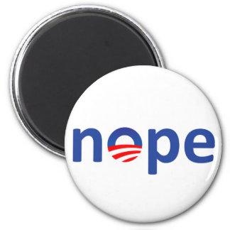 Nope Obama Magnet