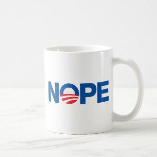Nope Obama Taza De Café
