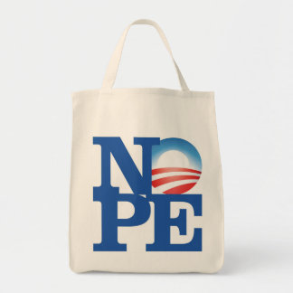 NOPE - Organic Grocery Tote