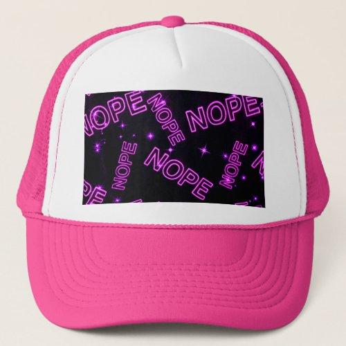 Nope Trucker Hat