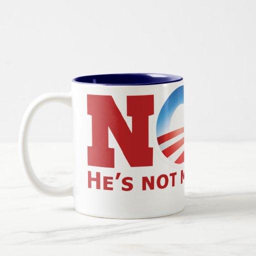 Nope Two-Tone Coffee Mug