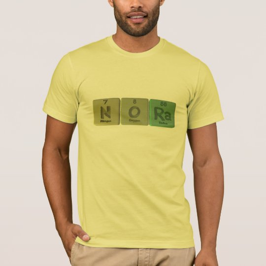 Nora as Nitrogen Oxygen Radium T-Shirt