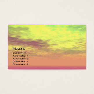 NORA, BACK TO THE FUTURE ,Science Fiction,Sci-Fi Business Card