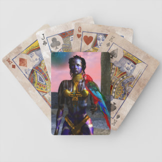 NORA CYBER WARRIOR BICYCLE PLAYING CARDS