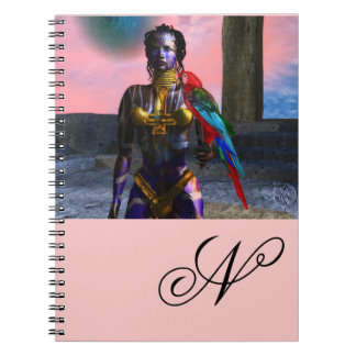 NORA CYBER WARRIOR MONOGRAM NOTEBOOK