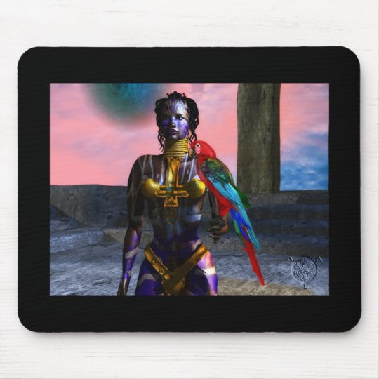 NORA CYBER WARRIOR MOUSE PAD