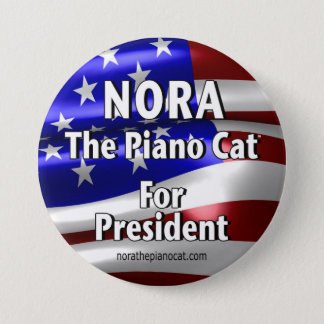 Nora For President Button #2