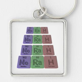 Norah as Nobelium Radium Hydrogen Key Chain