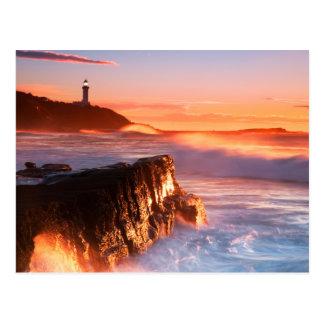 Norah Head Lighthouse   Soldiers Beach, Australia Postcard
