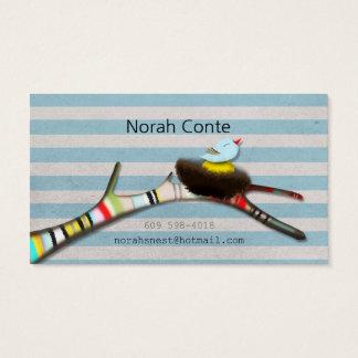 Norah's Nest Business Card