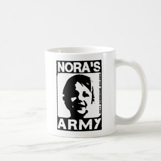 Nora's Army Canteen Classic White Coffee Mug