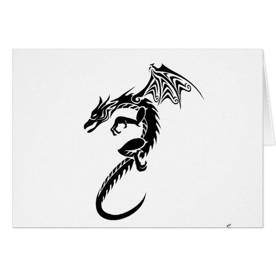 Norbert the Black Dragon Card