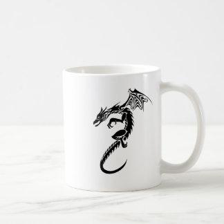 Norbert the Black Dragon Coffee Mug
