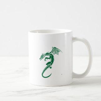 Norbert the Green Dragon Coffee Mug