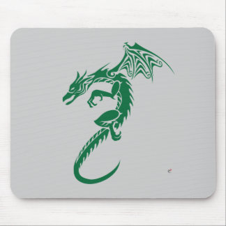 Norbert the Green Dragon Mouse Pad