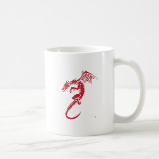 Norbert the Red Dragon Coffee Mug