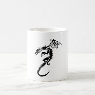Norberto el dragón negro taza de café