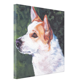 norbottendpets nordic spitz fine art gallery wrapped canvas