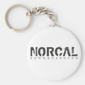 NorCal Snowboarders Keychain