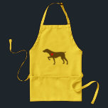"NorCalGSP Rescue Logo Dog Apron<br><div class=""desc"">Be the proud wearer of our Logo Dog Apron!  Help get the word out there about our group and the good work that we do!</div>"