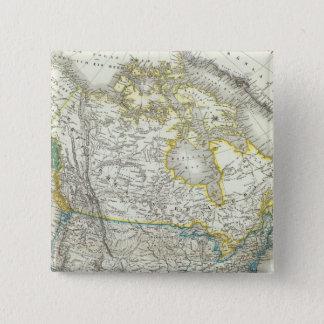 Nord America - North America Button