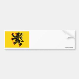 Nord-Pas-de-Calais flag Bumper Sticker