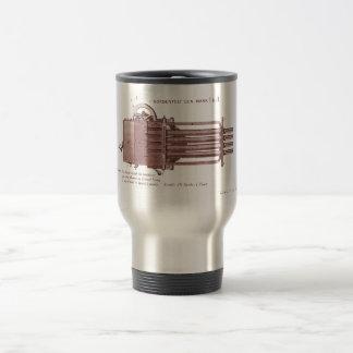 Nordenfelt Minigun Tazas De Café