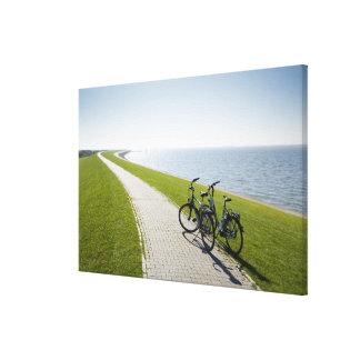 Norderney, islas del este del Frisian, Alemania 2 Impresión En Tela