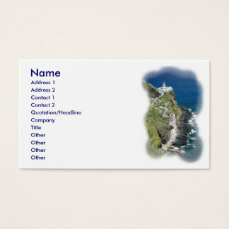 Nordeste - Azores Business Card