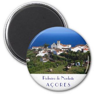 Nordeste - Azores 2 Inch Round Magnet