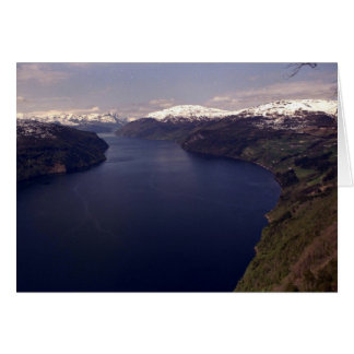Nordfjord, The Nos Panorama Greeting Card