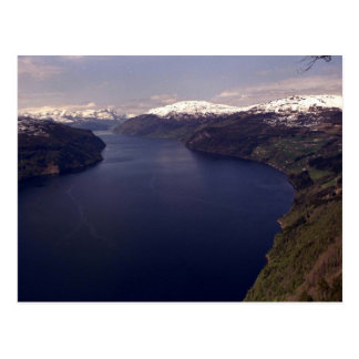 Nordfjord, The Nos Panorama Postcard
