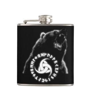 Nordic Bear Flask