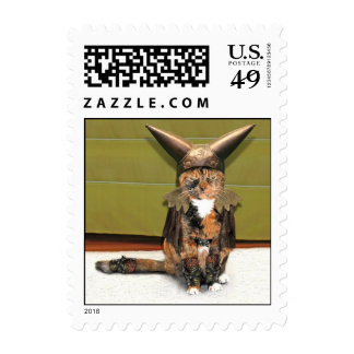 Nordic Cat is Not Amused Stamps