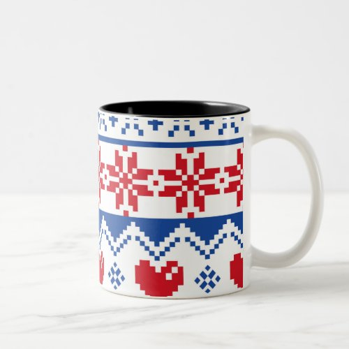 Nordic Christmas Coffee Mug