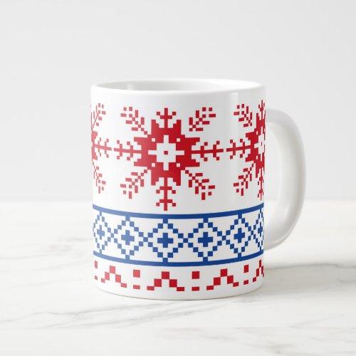 Nordic Snowflake Coffee Mug