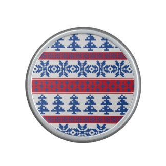 Nordic Christmas Trees Bluetooth Speaker