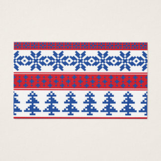 Nordic Christmas Trees Business Card