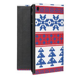 Nordic Christmas Trees Cover For iPad Mini