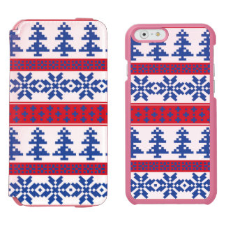 Nordic Christmas Trees iPhone 6/6s Wallet Case