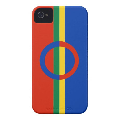 Nordic Circle Red Blue Blackberry Bold Case-Mate