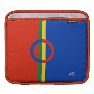 Nordic Circle Red Blue iPad / iPad2 sleeve iPad Sleeve