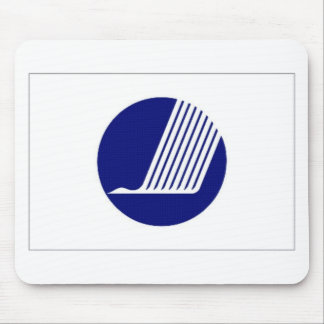 Nordic Council Flag Mouse Pad