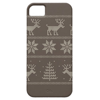 Nordic knitted ornament iphone 5 case