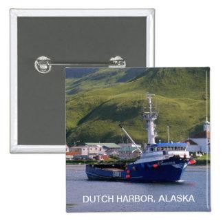 Nordic Mariner, Crab Boat in Dutch Harbor, AK Pins