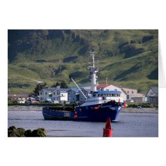 Nordic Mariner, Crab Boat in Dutch Harbor, AK Card