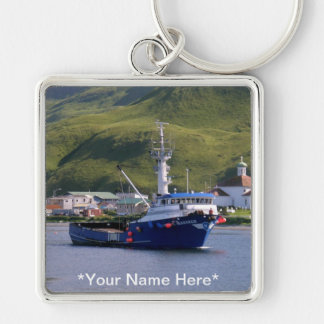 Nordic Mariner, Crab Boat in Dutch Harbor, AK Keychain