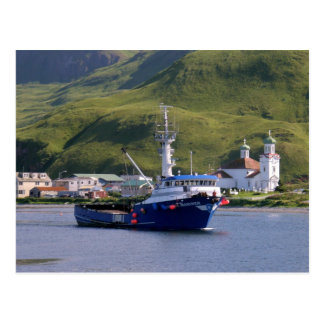 Nordic Mariner, Crab Boat in Dutch Harbor, AK Postcard