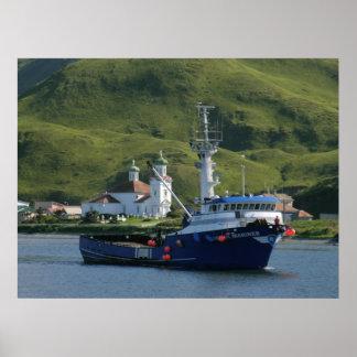 Nordic Mariner, Crab Boat in Dutch Harbor, AK Poster